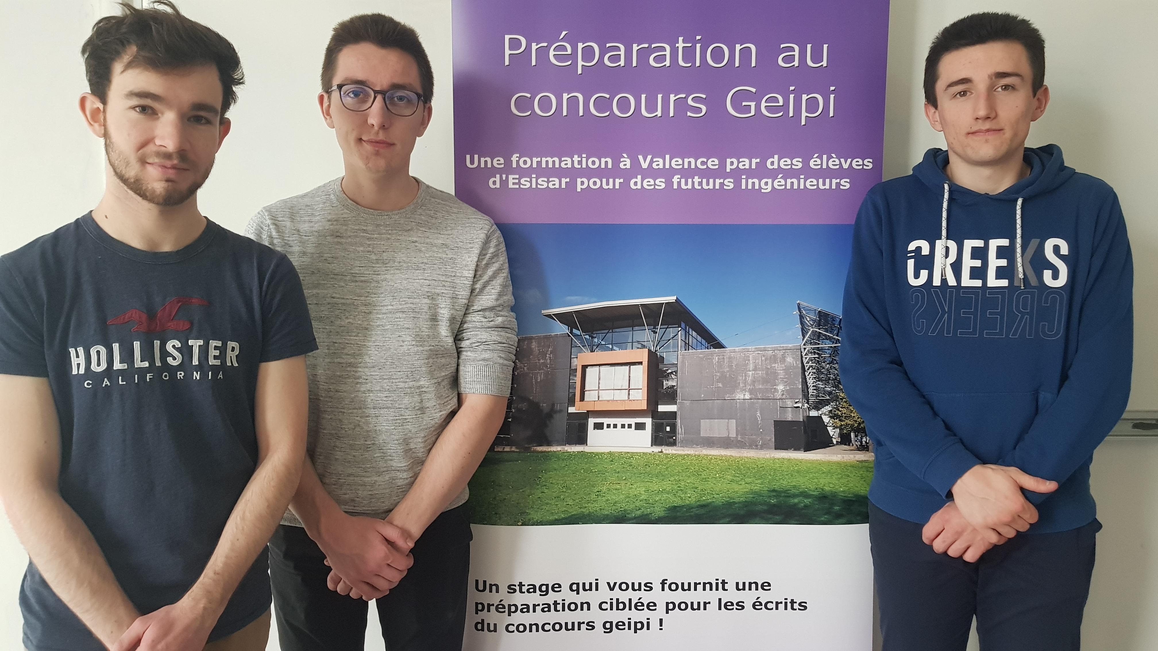 Photo préparation concours Geipi