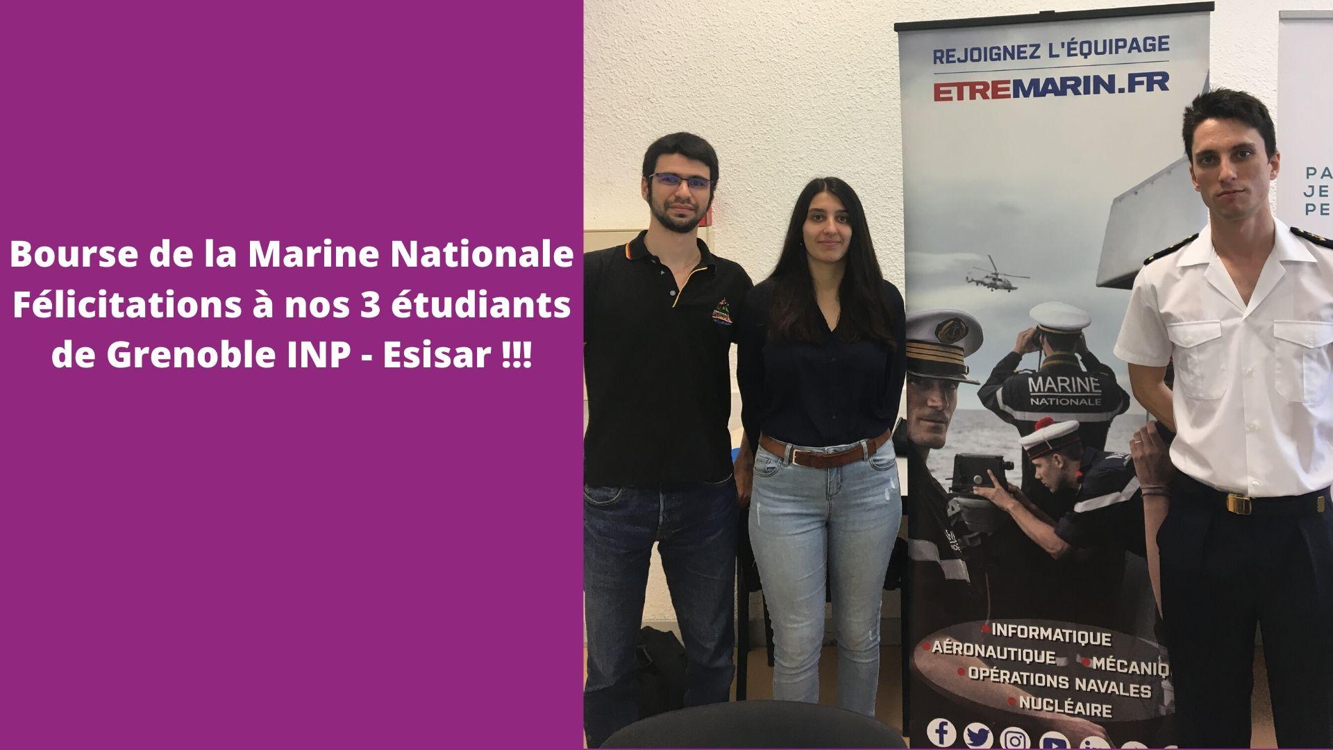 Bourse Marine Nationale