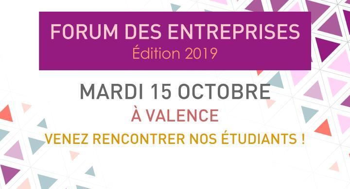 Forum des entreprises 2019