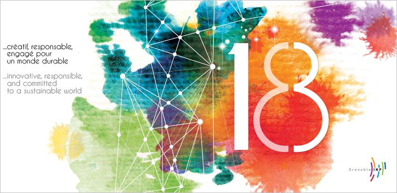 Grenoble INP - Carte de voeux - 2018