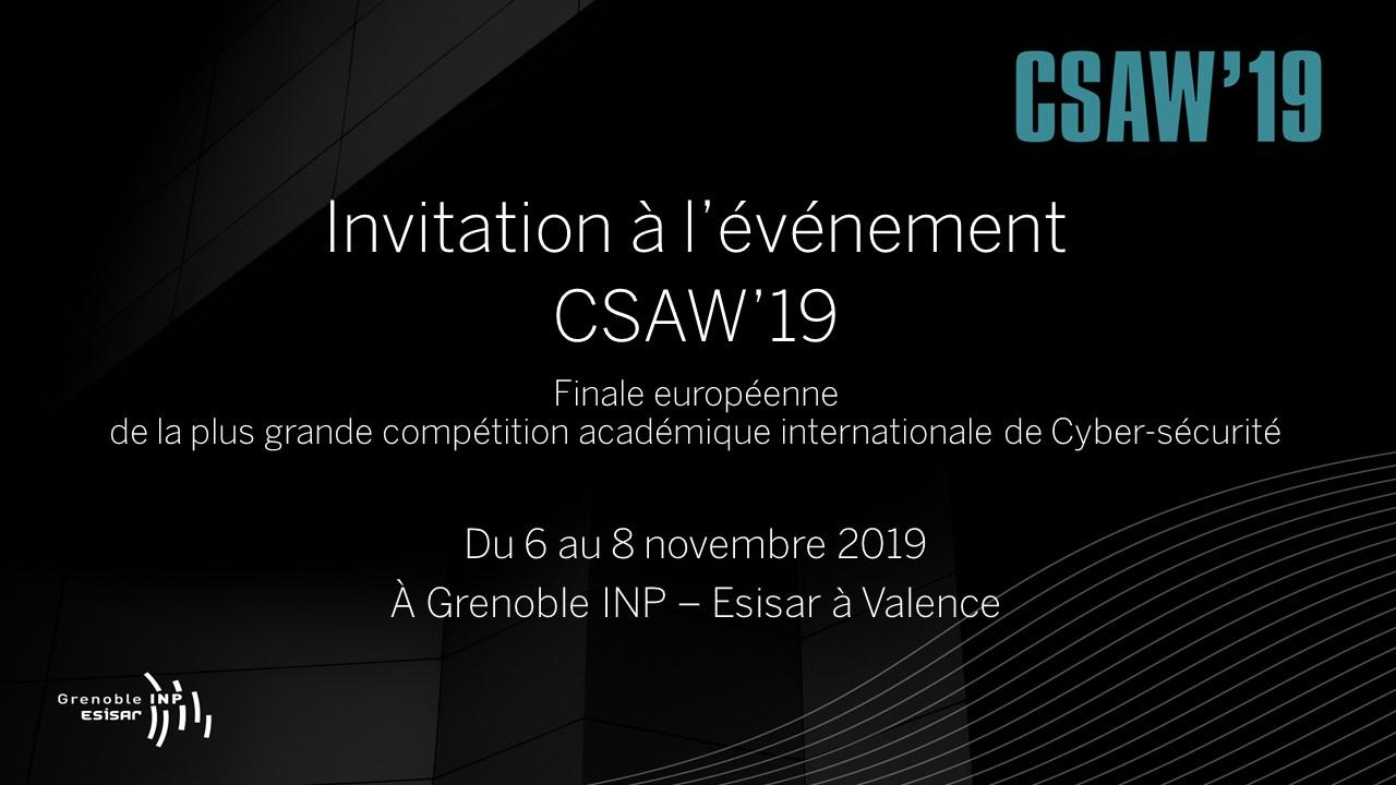 Invitations CSAW 19 v2