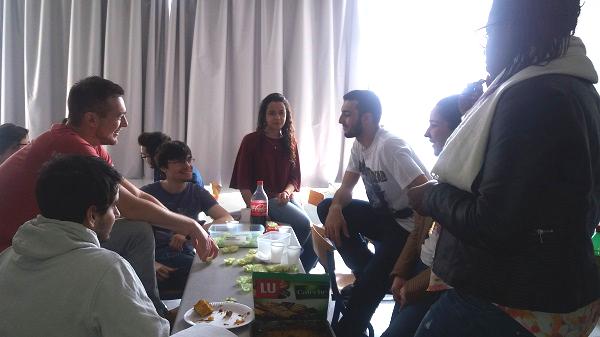 Participants café Brésil