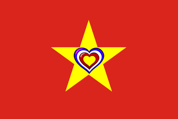 Vietnam-France Flag